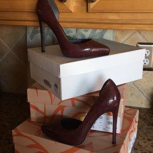 2e84c566392 Monika Chiang heels.  390  0. High heels genuine leather pump